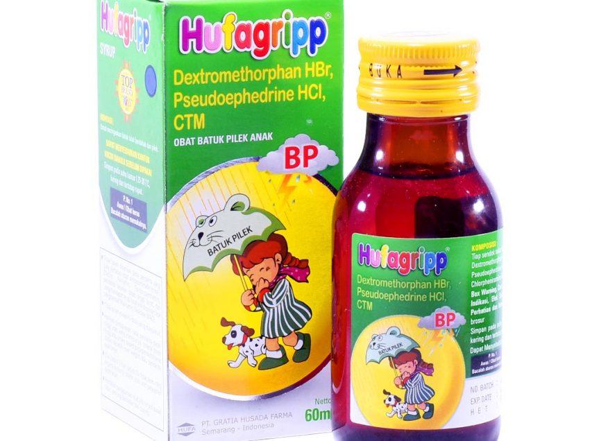 Macam Macam Hufagrip Anak: Manfaat, Dosis, Kontraindikasi dan Efek Samping