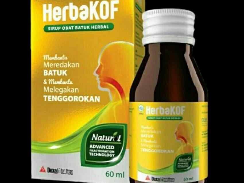 Ini Dia 4 Khasiat Obat Batuk Herbakof yang Sayang Jika Dilewatkan